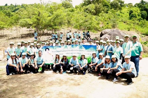โครงการปลูกป่าเฉลิมพระเกียรติ เนื่องในวันเฉลิมพระชนม์พรรษา / The Forest Rehabilitation Project to commemorate HerMajesty Queen's Birthday
