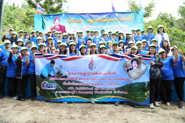 โครงการปลูกป่าเฉลิมพระเกียรติ เนื่องในวันเฉลิมพระชนมพรรษา / The Forest Rehabilitation Project to commemorate Her Majesty Queen Sirikit , The Queen Mother's Birthday