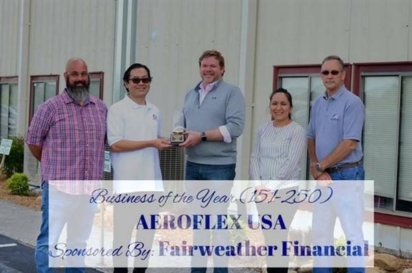 แอร์โรเฟลกซ์ ยูเอสเอ ได้รับรางวัลธุรกิจแห่งปี 2563 / AEROFLEX USA received Business of The Year Award 2020