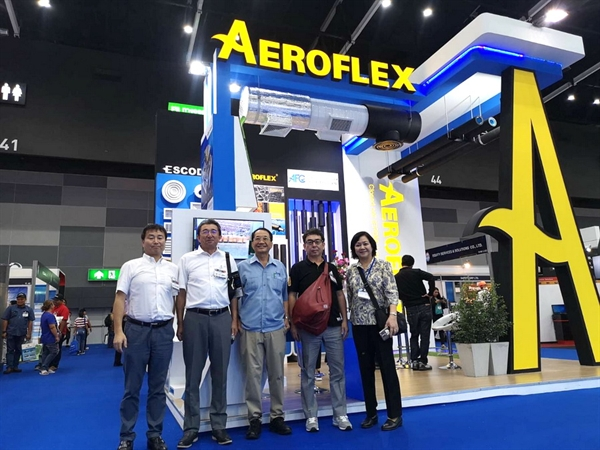 "AEROFLEX นำเสนอ Solution ในงานแสดงสินค้า Bangkok RHVAC 2019 / AEROFLEX proudly present ""Solution"" at Bangkok RHVAC 2019"
